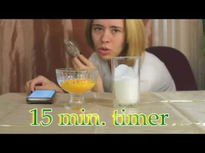 как сделать гоголь моголь из яиц