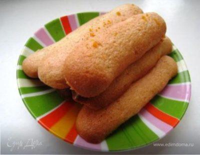 как сделать печенье савоярди