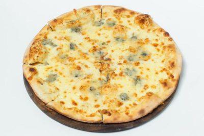 как сделать сырную пиццу
