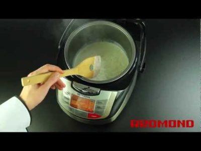 как приготовить молочную кашу в мультиварке