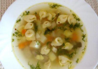 суп с тестом как называется