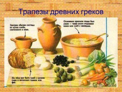 что ели в древней руси