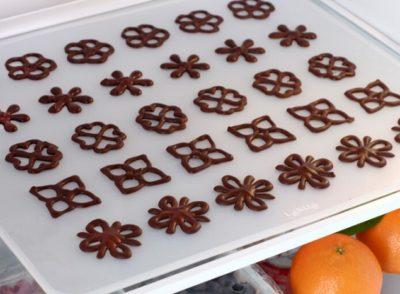 как растопить шоколад для украшения