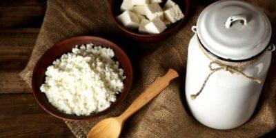 как сделать творог из молока и кефира