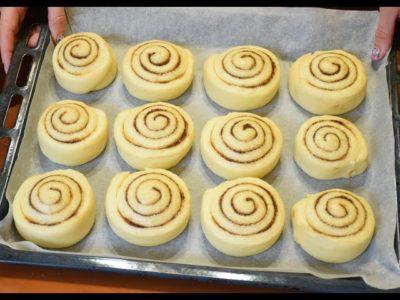 как сделать булочки с сахаром